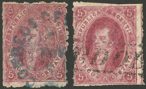 Lot 151 - Argentina rivadavias -  Guillermo Jalil - Philatino Auction #1925 ARGENTINA:
