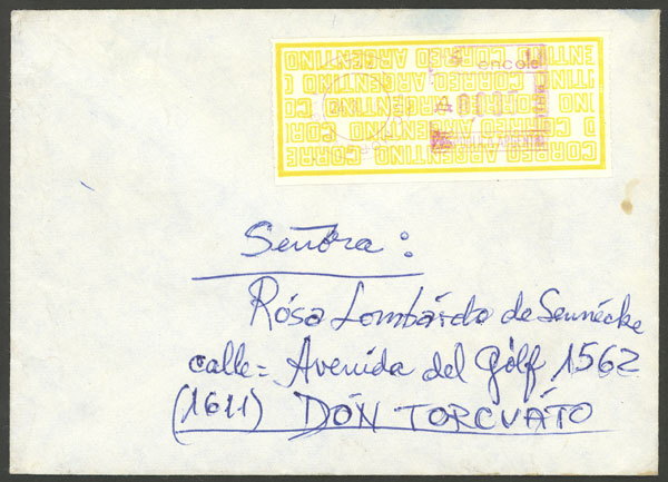 Lot 1660 - Argentina postal history -  Guillermo Jalil - Philatino Auction #1925 ARGENTINA: