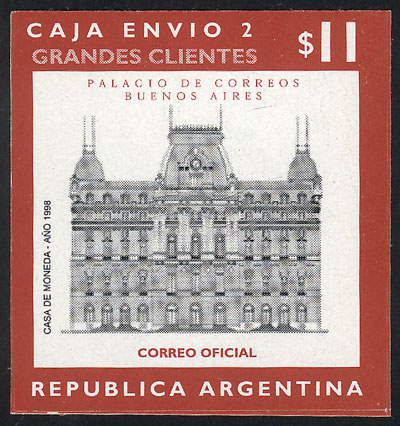 Lot 1223 - Argentina parcel post stamps -  Guillermo Jalil - Philatino Auction #1925 ARGENTINA: