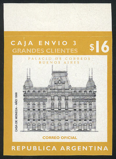 Lot 1224 - Argentina parcel post stamps -  Guillermo Jalil - Philatino Auction #1925 ARGENTINA:
