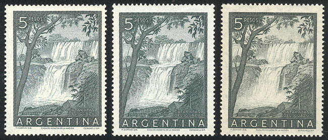 Lot 760 - Argentina general issues -  Guillermo Jalil - Philatino Auction #1925 ARGENTINA: