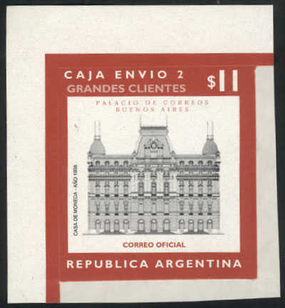 Lot 1495 - Argentina parcel post stamps -  Guillermo Jalil - Philatino Auction #1925 ARGENTINA: