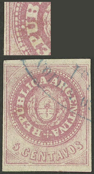 Lot 16 - Argentina escuditos -  Guillermo Jalil - Philatino Auction #1926 ARGENTINA: Selection of rarities and scarce material!