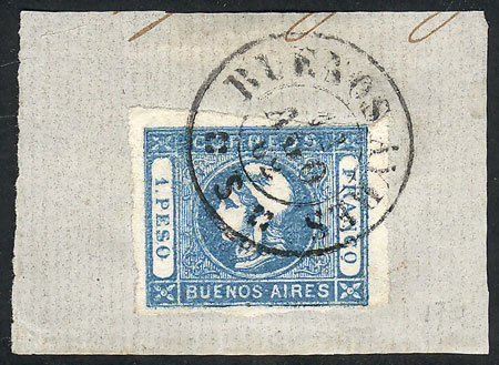Lot 6 - Argentina cabecitas -  Guillermo Jalil - Philatino Auction #1926 ARGENTINA: Selection of rarities and scarce material!