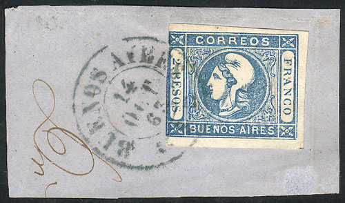 Lot 7 - Argentina cabecitas -  Guillermo Jalil - Philatino Auction #1926 ARGENTINA: Selection of rarities and scarce material!