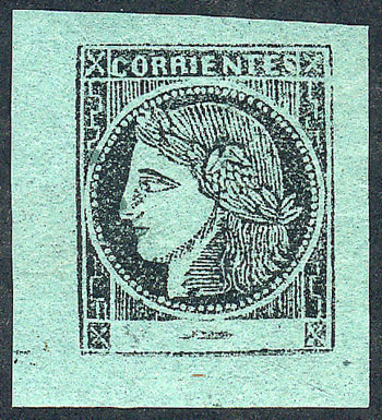 Lot 10 - Argentina corrientes -  Guillermo Jalil - Philatino Auction #1926 ARGENTINA: Selection of rarities and scarce material!