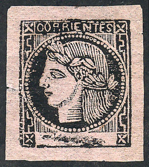 Lot 11 - Argentina corrientes -  Guillermo Jalil - Philatino Auction #1926 ARGENTINA: Selection of rarities and scarce material!