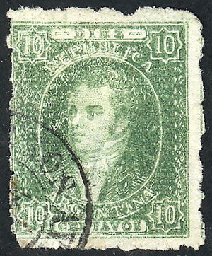 Lot 65 - Argentina rivadavias -  Guillermo Jalil - Philatino Auction #1926 ARGENTINA: Selection of rarities and scarce material!