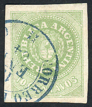 Lot 19 - Argentina escuditos -  Guillermo Jalil - Philatino Auction #1926 ARGENTINA: Selection of rarities and scarce material!