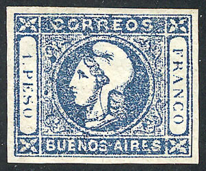 Lot 11 - Argentina buenos aires -  Guillermo Jalil - Philatino Auction #1927 ARGENTINA: