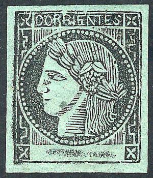 Lot 13 - Argentina corrientes -  Guillermo Jalil - Philatino Auction #1927 ARGENTINA: