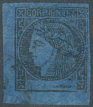 Lot 18 - Argentina corrientes -  Guillermo Jalil - Philatino Auction #1927 ARGENTINA: