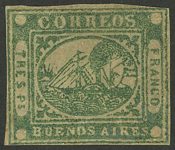 Lot 5 - Argentina buenos aires -  Guillermo Jalil - Philatino Auction #1927 ARGENTINA: