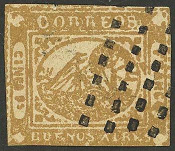 Lot 6 - Argentina buenos aires -  Guillermo Jalil - Philatino Auction #1927 ARGENTINA: