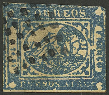 Lot 7 - Argentina buenos aires -  Guillermo Jalil - Philatino Auction #1927 ARGENTINA: