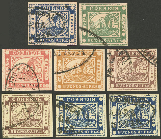 Lot 4 - Argentina buenos aires -  Guillermo Jalil - Philatino Auction #1927 ARGENTINA: