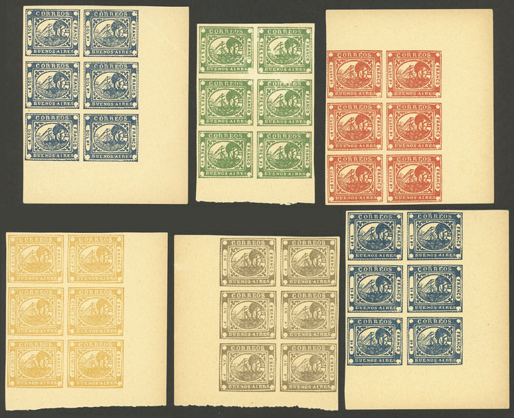 Lot 3 - Argentina buenos aires -  Guillermo Jalil - Philatino Auction #1927 ARGENTINA:
