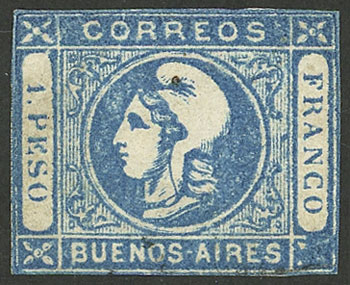 Lot 10 - Argentina buenos aires -  Guillermo Jalil - Philatino Auction #1927 ARGENTINA: