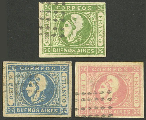 Lot 9 - Argentina buenos aires -  Guillermo Jalil - Philatino Auction #1927 ARGENTINA: