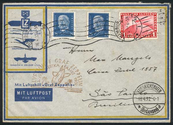 Lot 24 - germany postal history -  Guillermo Jalil - Philatino Auction #1928 WORLDWIDE + ARGENTINA: General Winter auction