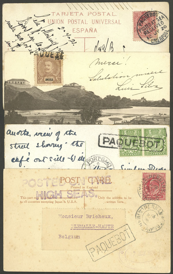 Lot 2 - SEA MAIL postal history -  Guillermo Jalil - Philatino Auction #1928 WORLDWIDE + ARGENTINA: General Winter auction