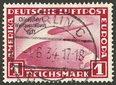 Lot 14 - germany airmail -  Guillermo Jalil - Philatino Auction #1928 WORLDWIDE + ARGENTINA: General Winter auction