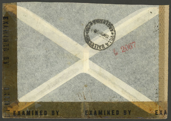 Lot 34 - germany postal history -  Guillermo Jalil - Philatino Auction #1928 WORLDWIDE + ARGENTINA: General Winter auction