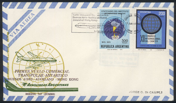 Lot 54 - antarctica  -  Guillermo Jalil - Philatino Auction #1928 WORLDWIDE + ARGENTINA: General Winter auction