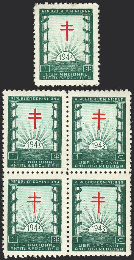 Lot 672 - dominican republic cinderellas -  Guillermo Jalil - Philatino Auction #1928 WORLDWIDE + ARGENTINA: General Winter auction