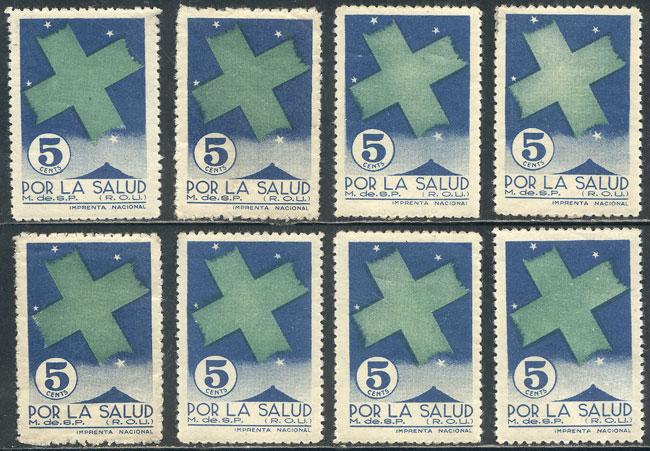 Lot 1275 - Uruguay cinderellas -  Guillermo Jalil - Philatino Auction #1928 WORLDWIDE + ARGENTINA: General Winter auction