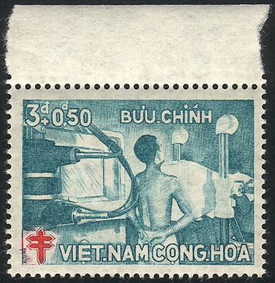 Lot 1280 - vietnam cinderellas -  Guillermo Jalil - Philatino Auction #1928 WORLDWIDE + ARGENTINA: General Winter auction