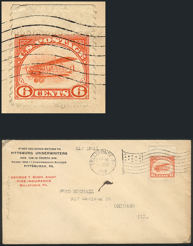 Lot 726 - united states postal history -  Guillermo Jalil - Philatino Auction #1928 WORLDWIDE + ARGENTINA: General Winter auction