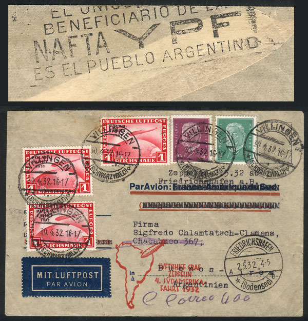 Lot 25 - germany postal history -  Guillermo Jalil - Philatino Auction #1928 WORLDWIDE + ARGENTINA: General Winter auction