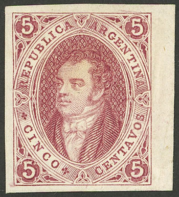Lot 73 - Argentina rivadavias -  Guillermo Jalil - Philatino Auction #1930 ARGENTINA: Special August auction!