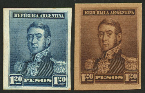 Lot 295 - Argentina general issues -  Guillermo Jalil - Philatino Auction #1931  ARGENTINA: Auction with interesting lots at budget prices!