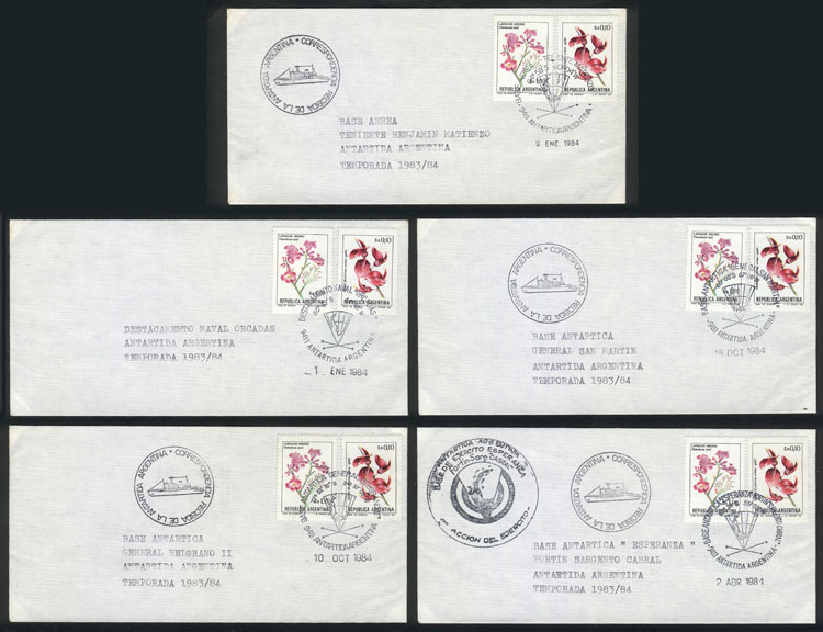 Lot 14 - argentine antarctica postal history -  Guillermo Jalil - Philatino Auction #1931  ARGENTINA: Auction with interesting lots at budget prices!