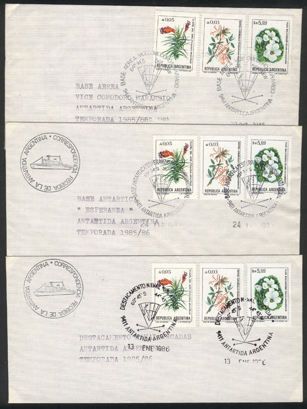 Lot 16 - argentine antarctica postal history -  Guillermo Jalil - Philatino Auction #1931  ARGENTINA: Auction with interesting lots at budget prices!