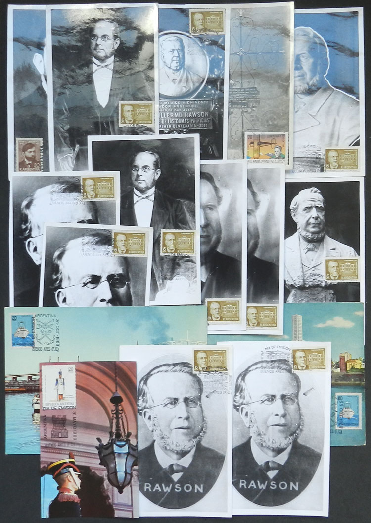 Lot 1945 - Argentina Lots and Collections -  Guillermo Jalil - Philatino Auction #1931  ARGENTINA: Auction with interesting lots at budget prices!