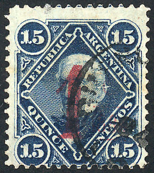 Lot 167 - Argentina general issues -  Guillermo Jalil - Philatino Auction #1931  ARGENTINA: Auction with interesting lots at budget prices!