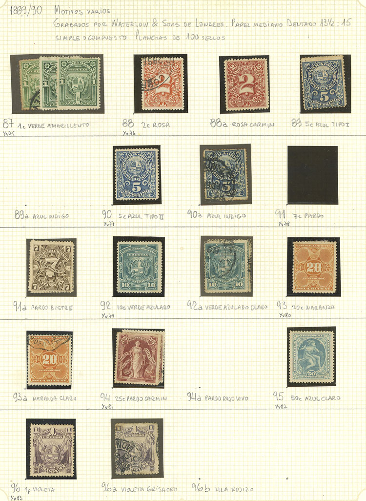 Stamp Auction - Uruguay Lots and Collections - Auction #1933