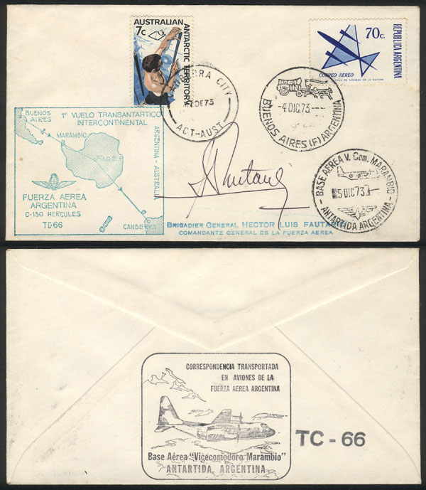 Lot 59 - Argentina postal history -  Guillermo Jalil - Philatino Auction #1937 WORLDWIDE + ARGENTINA: special September auction
