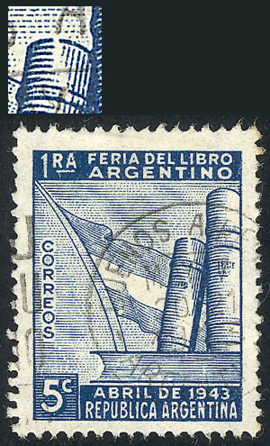 Lot 392 - Argentina general issues -  Guillermo Jalil - Philatino Auction #1938  ARGENTINA: small but very attractive auction