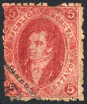 Lot 48 - Argentina rivadavias -  Guillermo Jalil - Philatino Auction #1938  ARGENTINA: small but very attractive auction