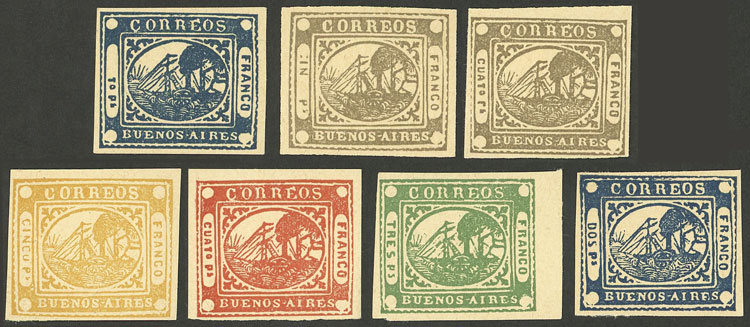 Lot 6 - Argentina buenos aires -  Guillermo Jalil - Philatino Auction #1940 ARGENTINA: