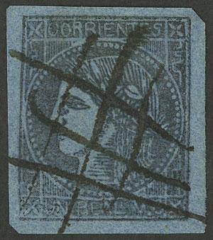 Lot 12 - Argentina corrientes -  Guillermo Jalil - Philatino Auction #1940 ARGENTINA:
