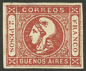 Lot 8 - Argentina buenos aires -  Guillermo Jalil - Philatino Auction #1940 ARGENTINA: