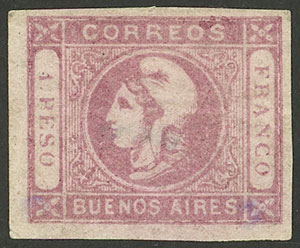 Lot 10 - Argentina buenos aires -  Guillermo Jalil - Philatino Auction #1940 ARGENTINA: