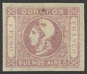 Lot 9 - Argentina buenos aires -  Guillermo Jalil - Philatino Auction #1940 ARGENTINA: