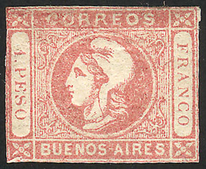 Lot 11 - Argentina buenos aires -  Guillermo Jalil - Philatino Auction #1940 ARGENTINA: