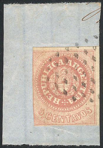 Lot 25 - Argentina escuditos -  Guillermo Jalil - Philatino Auction #1940 ARGENTINA: